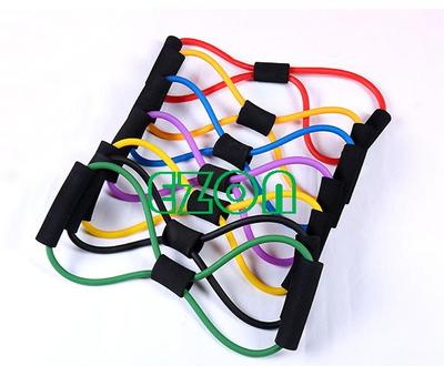 8 Characters Yoga Pull Rope Chest Expanders