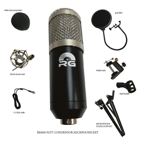 BM-800 Suit Condensor audio microphone