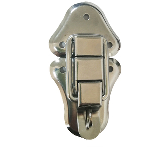 Aluminum case lock with hook 50x92mm
