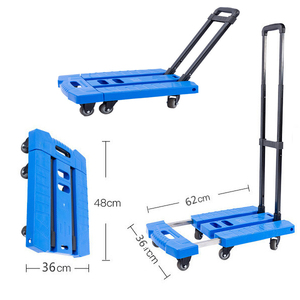 6 wheel folding luggage cart bear 200 KG