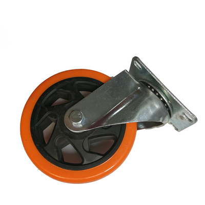 "3""/4""/5"" pvc moving swivel caster for flight case"