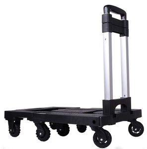 7 Wheel cart loading 150kg heavy duty luggage cart