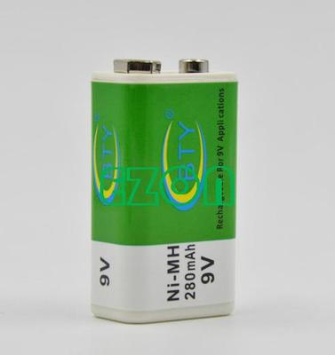 Guide Machine Rechargeable Battery BTY- 9V-280mah Ni-MH Battery