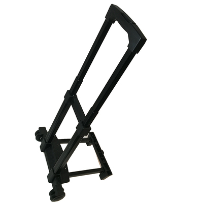 100kg heavy duty load 4 wheel trolley handle